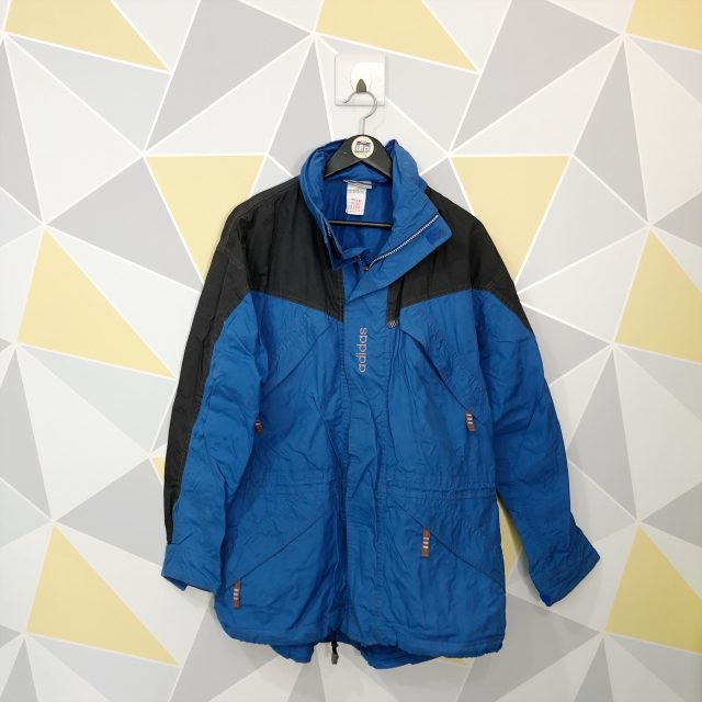 84c638828595 ... Black Adidas Embroidered Spell Out Parka Jacket. Home>Brands>Adidas>Vintage  ...